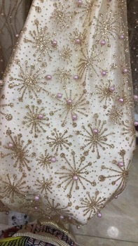 on sale SYJ-82725  french net lace fabric for bridal dress embroidered tulle lace fabric