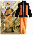 Взрослый Хэллоуин костюмы Узумаки Наруто косплей костюм для мужчин аниме одежда куртка Спортивные костюмы