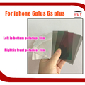 10psc Original The Light LCD Polarize Film For iPhone 6 plus 6Splus / 7 Plus On The Back Bottom Polaroid Light Silver Film