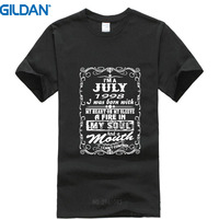 Custom T Shirts Online Gildan Made In Are Born In July 1998 Funny 19Th Birthday Gift