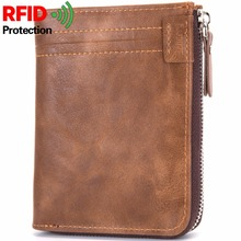 BABORRY 2018 Leather Men Wallets Short Male Purse Credit Card Holder Small Man's Coin Wallet Zipper Purse Carteira Masculina недорого