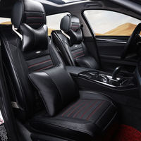 Sports Custom Travel Car Seat Cover Universal Cushion Car Pad Car Modeling For BMW Audi Toyota