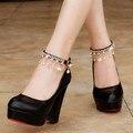Mulheres Sapatos De Salto Alto Sapatos de Plataforma Sapatos de Salto Mulheres Bombas Senhoras sapatos de Casamento Sapatos de Noiva Mulher Lolita Sapatos sapato feminino