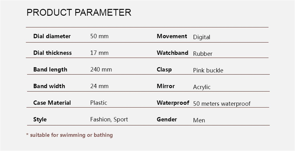 OHSEN Brand Men Women Sports Watches Waterproof Alarm Digital LED Electronic Clock Man Sport Male Casual Watch Relogio Masculino (30)