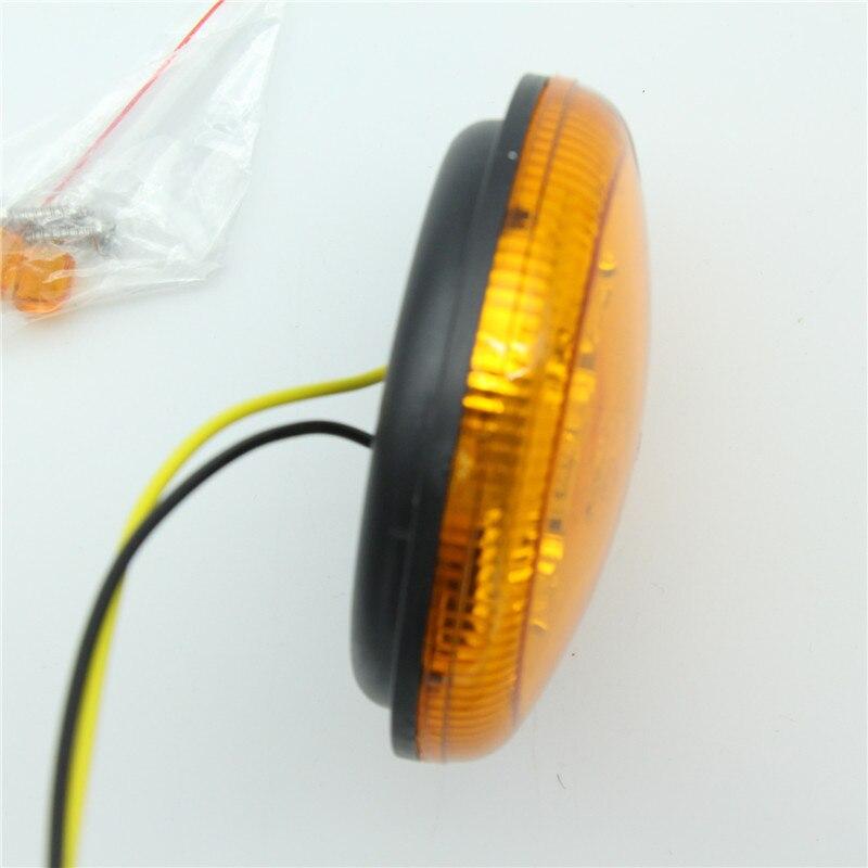 2Pcs 12V / 24V უნივერსალური 95 მმ LED - მანქანის განათება - ფოტო 5