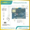 Conjunto completo de controlador de inteligência artificial para bomba de calor da fonte de ar aquecedor de água para uso doméstico (AQS), incluindo sensers + cabo