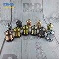 Free shipping 50pcs/lot vintage thread ceramic socket E27 Socket Edison Retro 11 colors DIY lamp accessories aluminum lampholder