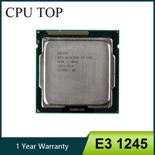 Intel Xeon E3 1245 Quad Core מעבד מעבד 3.3GHz LGA 1155 8MB E3 1245 SR00L