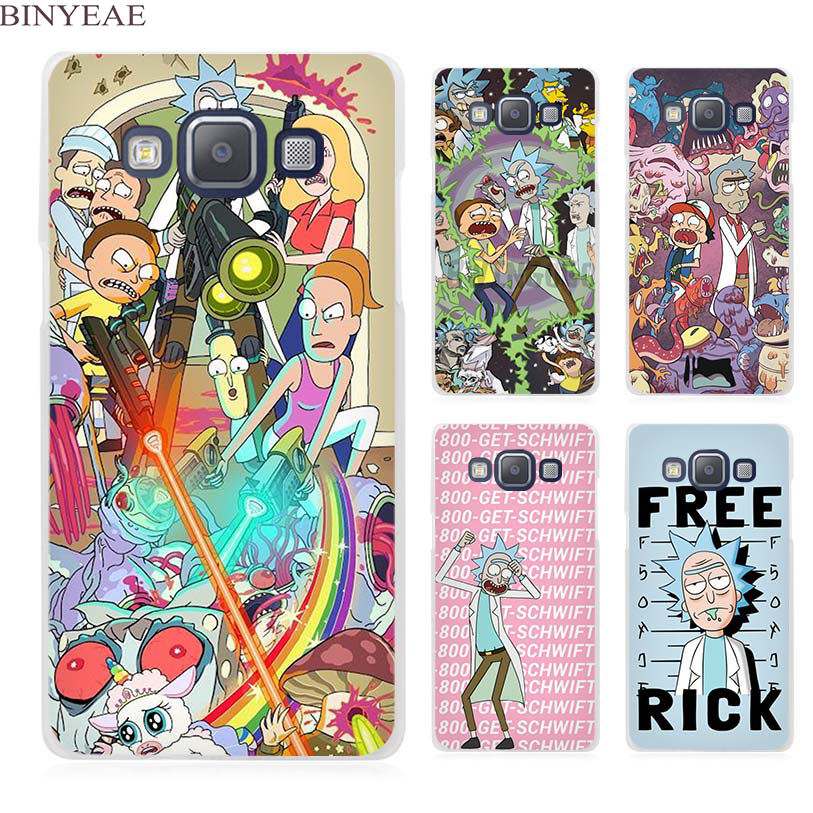 BINYEAE rick and morty Clear Transparent Cell Phone Case ...
