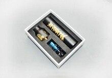 Apocalipsis gen 2 Starter Kit con Mecánica Vape Mod y el Atomizador RDA Negro Oro Colores kit Vaporizador