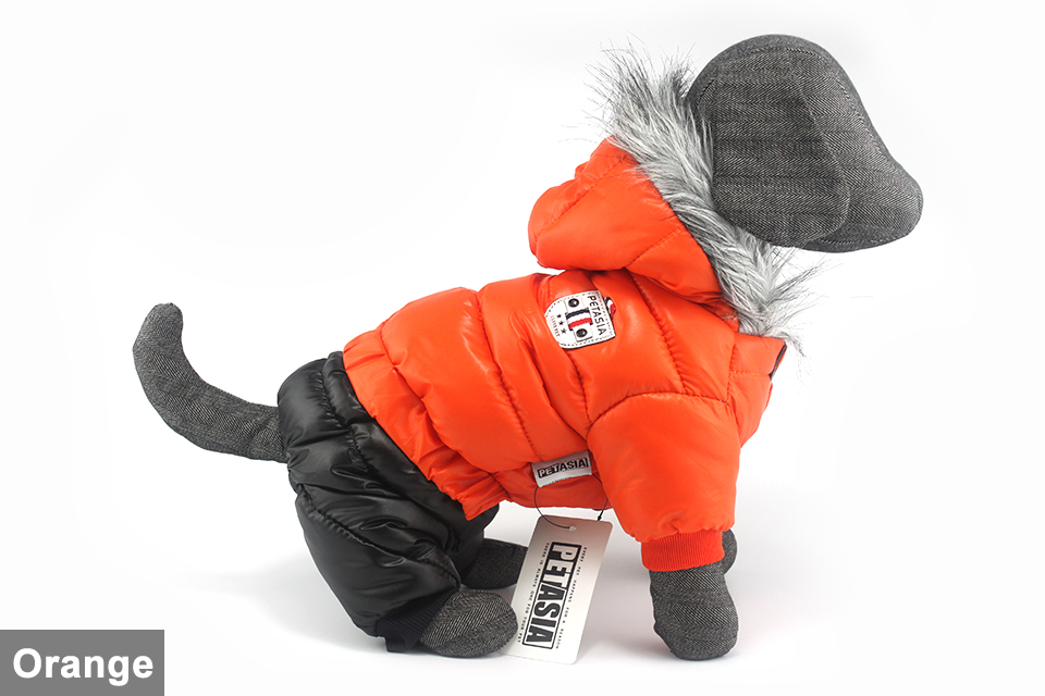 Chaqueta impermeable de invierno para perro 10