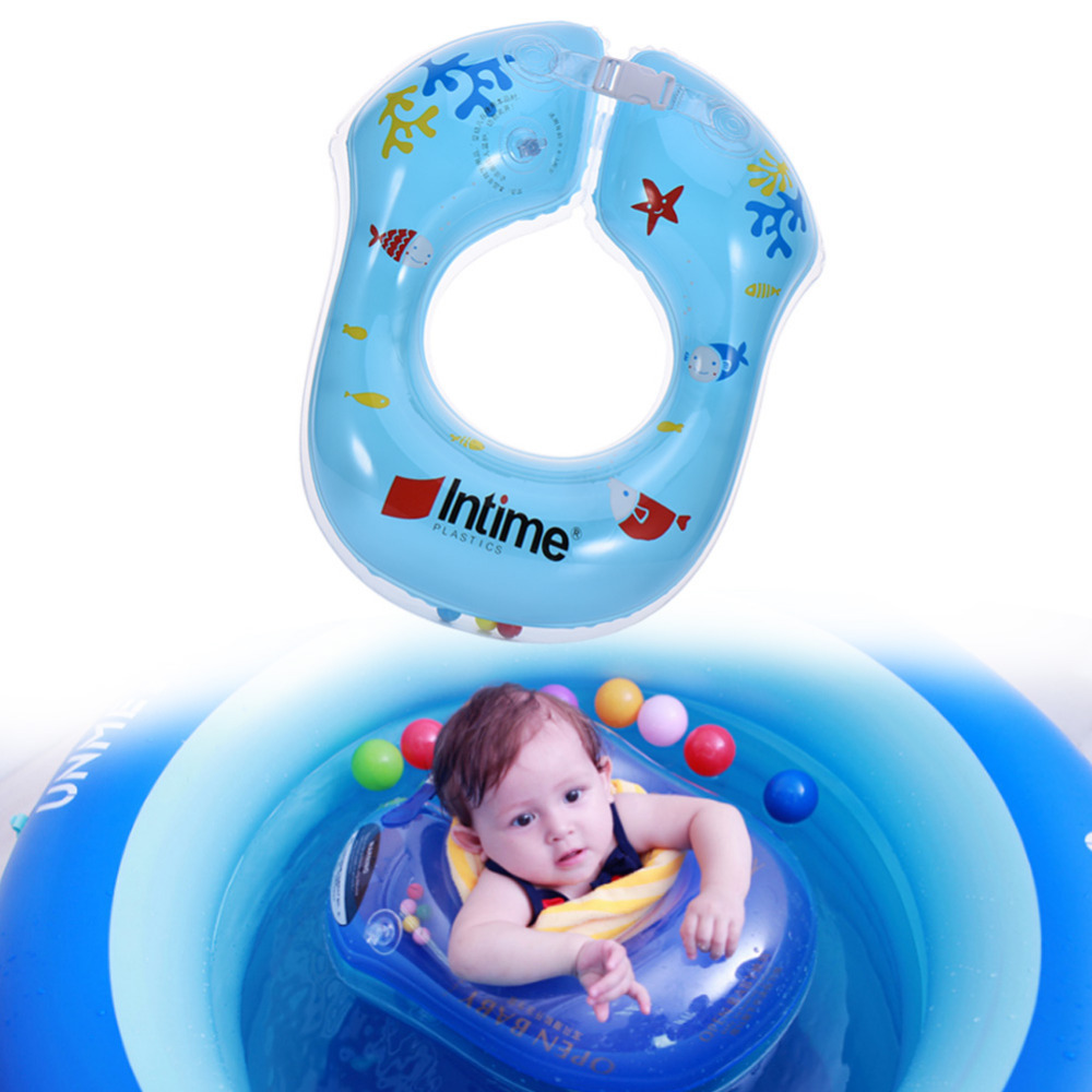 52*21Cm Baby Pool Float Toy Infant Ring Toddler Inflatable Ring Sit ...