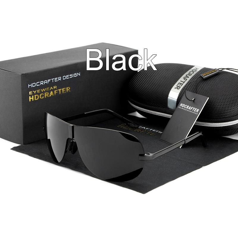 HDCRAFTER Hot Aviator Sunglasses Man Fashion Polarized Driving Sunglass for Men Pilot Sunglasses Brand Designer 2016 Sun Glasses
