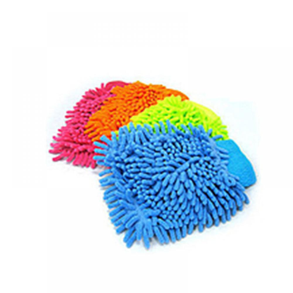 New Soft Absorbancy Glove High Density Car Cleaning Ultra Soft Easy To Dry Auto Detailing Microfiber Madness Wash Mitt Cloth