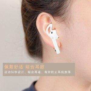 Image 4 - Mới 2 miếng đệm Tai Nghe cho AirPods Không Dây Bluetooth cho iPhone 7 7 Plus tai nghe nhét tai Silicone mũ tai Tai nghe ốp lưng nút tai nghe bằng eartips
