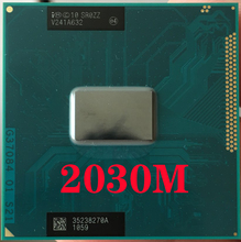 Procesor laptopa Intel Pentium 2030M SR0ZZ gniazdo G2 rPGA988B notebook cpu 100% działa poprawnie