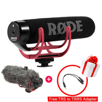 Video Recording Mic VideoMic GO On Camera Wired Condenser Microphone for Canon for Nikon for Sony DSLR DV Camcorder