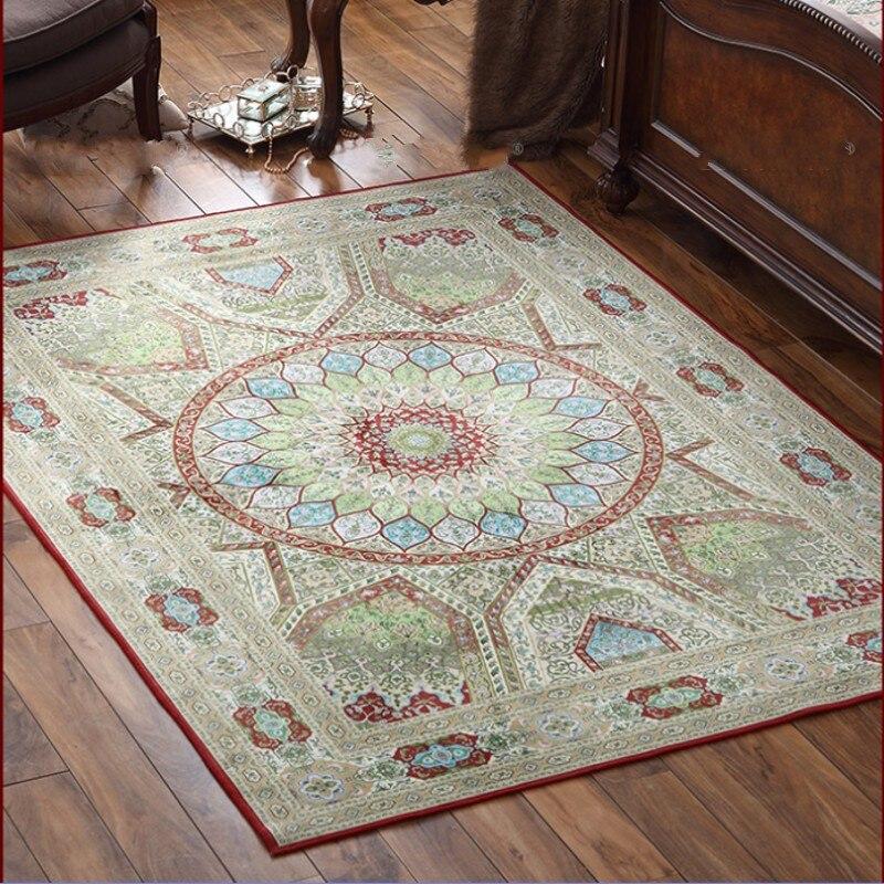 Большие размеры персидский ковер, 160*230 см гостиная журнальный столик ковер, прямоугольник землю коврик, пастырской украшения дома