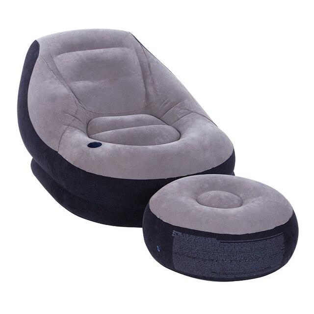 4529 Lazy Bedroom, Balcony, Small Sofa Bed, Single Inflatable Sofa,  Dormitory,