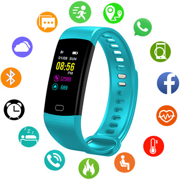 dfb5c6dc0bc1 Reloj inteligente relojes de pulsera para niños impermeable IP67  impermeable de los deportes del podómetro niños
