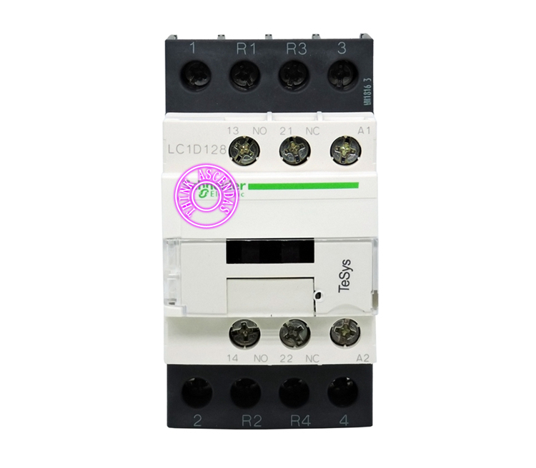 TeSys D Contactor 4P LC1D128 LC1D128GDC 125V / LC1D128JDC 12V / LC1D128KDC 100V / LC1D128LDC 200V / LC1D128MDC 220V DC sayoon dc 12v contactor czwt150a contactor with switching phase small volume large load capacity long service life