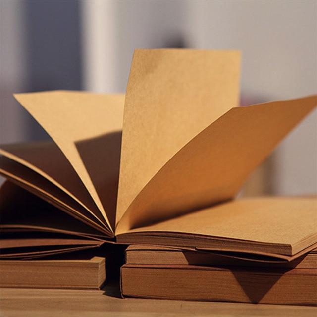 Горячей дневник ноутбук 56 листов бумаги эскиз рисунок пишущих старинные дневник записная книжка блокнот Офис Школьные принадлежности подарок