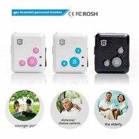 RF-V16 Mini GSM GPRS GPS Tracker SOS Communicator voor Kids Kind Ouderen Persoonlijke levensduur web APP Tracking twee-weg Talk