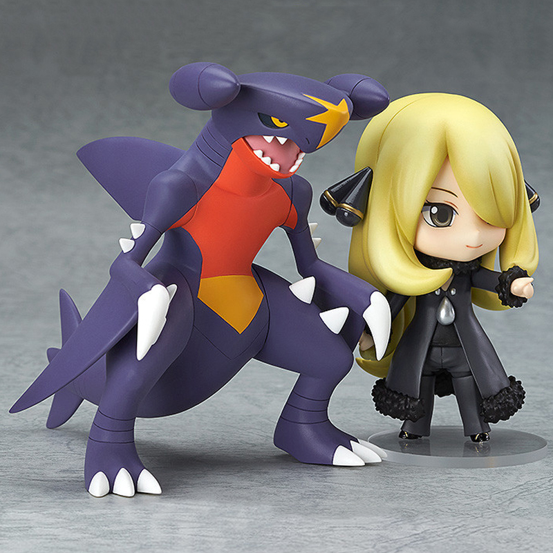 10CM Pikachu PVC Action Figure Toy Nendoroid Digimon Cynthia Garchomp Action Figures Collectible Model Kids Toys for Children nendoroid cynthia and garchomp action figures toys anime collectible model 507