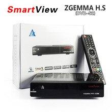 5pcs[Genuine] ZGEMMA H.S Satellite TV Box Receiver DVB S2 Enigma2 Linux OS 2000DMIPS CPU PROCESSOR BCM7362