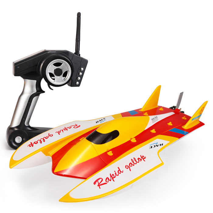 WLtoys 913 RC Boat Rushless Two-Way Multi-Function High-Speed Remote Contro Boats Toys Water Cooling Cycle Anti-Turning Ailerons