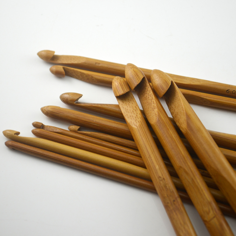 Knitting Hook Tool : Aliexpress buy pcs set carbonized bamboo needles