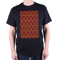 A Tribute To The Shining T Shirt Overlook Hotel Carpet Pattern Cult Movie Tee summer o neck tee, free shipping cheap tee
