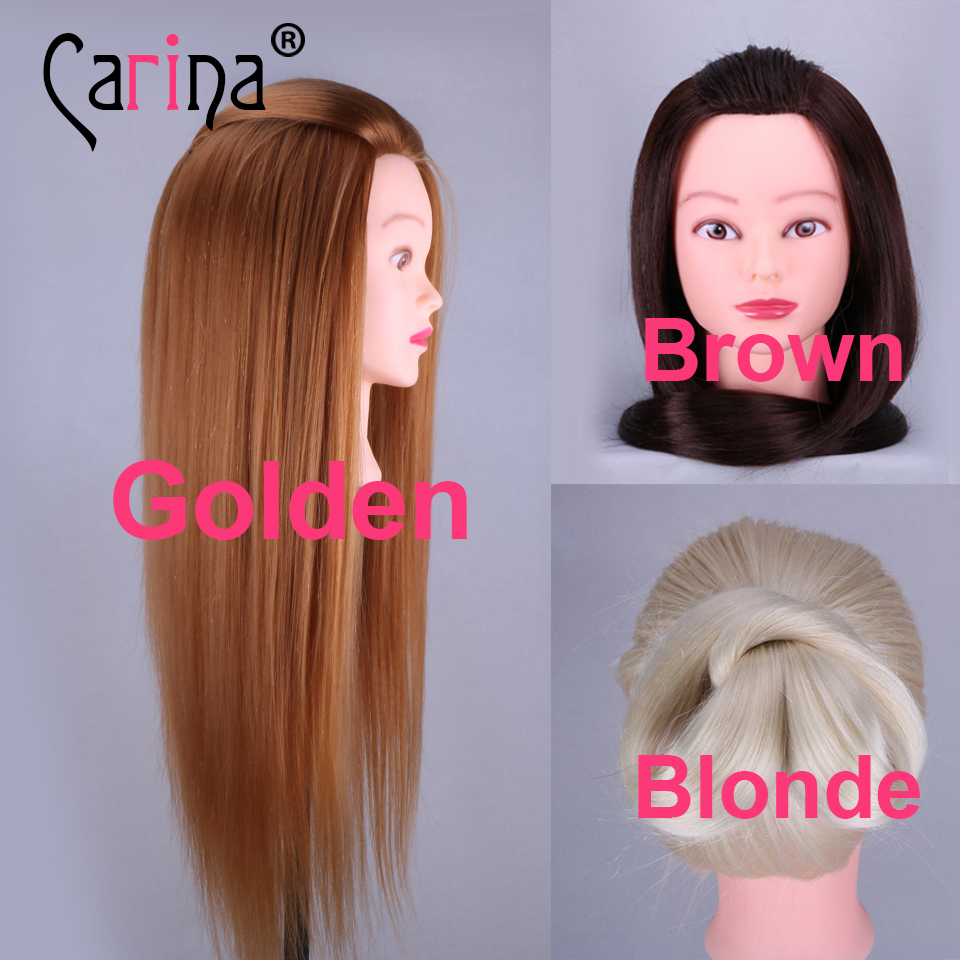 20 Training Head For Hairdressers Mannequin Hair Hairdressing Doll Heads Cosmetology Manikin In Mannequins From Home Garden On