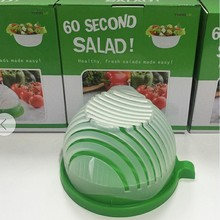 2017 New Salad Cutter Bowl,Vegetable Cutter Bowl Salad Maker Easy Make Your Salad in 60 Seconds original product