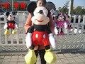 Grande 100 cm mickey, minnie de peluche de juguete, regalo de cumpleaños w5421