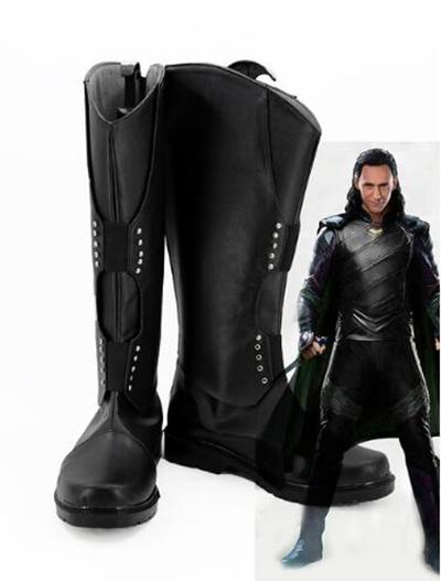 Thor Ragnarok Loki Cosplay Costume Movie Thor 3 costume and shoes