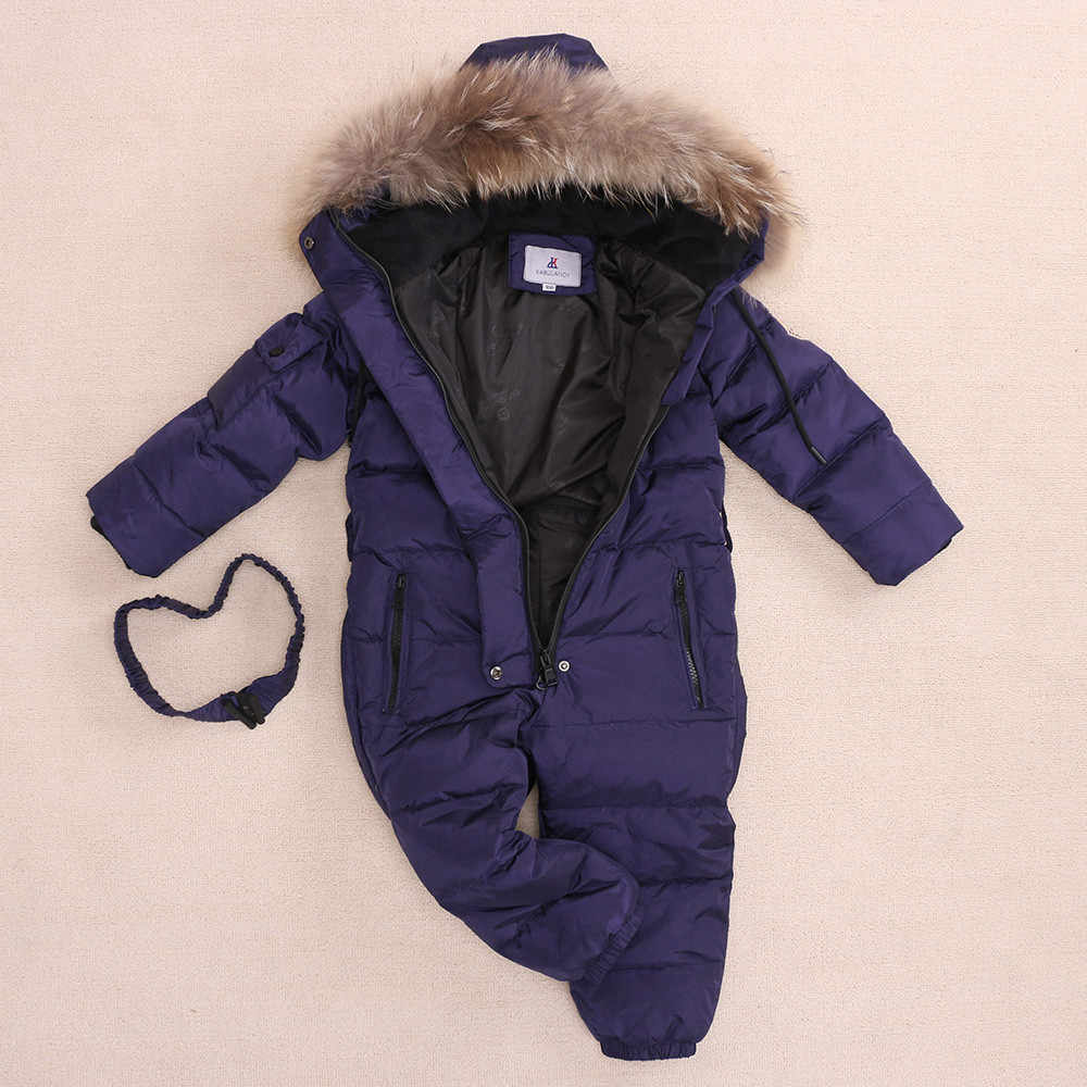 2418fec84 Detail Feedback Questions about 30 Degree Winter Children Jumpsuit ...