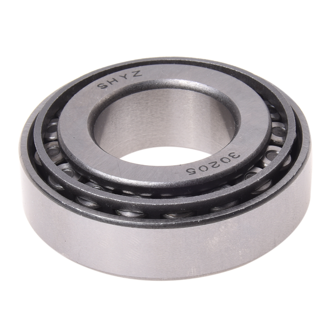 Single Row 15mm Thick 52mm Outside Dia Tapered Roller Bearing 30205 timken 28300 tapered roller bearing single cup standard tolerance straight outside diameter steel inch 3 0000 outside diameter 0 6105 width