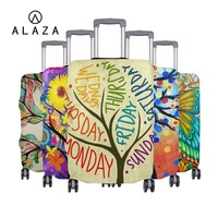 ALAZA Fits 18'' 32'' Luggage Tree Of Life Print Suitcase Protective Case Cover Travel Accessories Elastic Luggage Dust Cover HOT