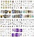 Nuevo 12 Hojas/Clavo de la Porción MT25-36 Mix Búho Dream Catcher Nail Art Water Transfer Sticker Decal Para El Arte Del Clavo tatuaje (12 DISEÑOS EN 1)