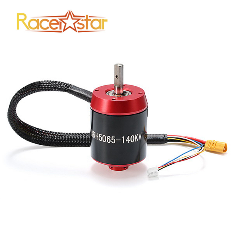 High Quality Racerstar 5065 BR5065 140KV 6-12S Brushless Motor With Gear For RC Motorcycle Multicopter Part