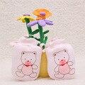 Fashion Adjustable Baby Glove Cartoon Pattern Anti-grasping Gloves Newborn Protection Face Cotton Anti Scratching Gloves