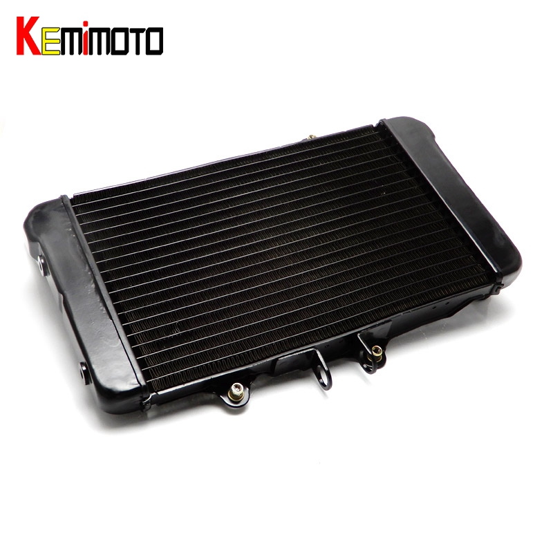 KEMiMOTO Motorcycle Accessories Cooler Radiator Cooling For Honda Bros650 NTV 650 Bors400 Bros 650 NTV650 1988 1989 1990 motorcycle accessories cooling aluminum cooler radiators for honda bros 650 ntv650 1988 1989 1990