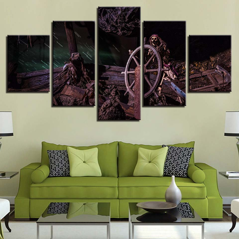 Wall Art Modular Pictures Canvas Painting Hd Prints Home Decor 5
