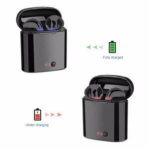 Image 3 - I7 Tws draadloze headset Bluetooth oortelefoon twin hoofdtelefoon Bluetooth headset met opladen doos voor alle smartphones