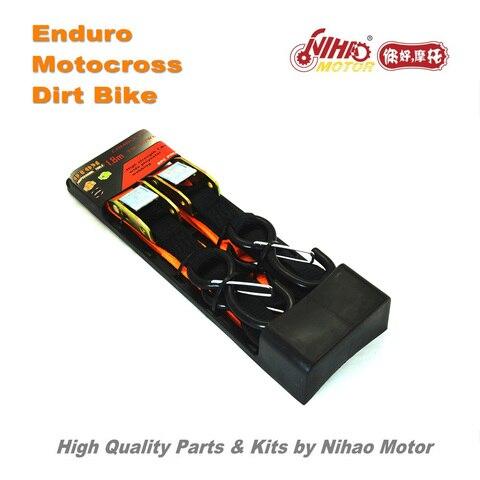 84 Motocross Parts Universal Ratchet 1.8m belt bind pull motorcycle transportation Enduro Kit Dirt bike spare cross Lahore