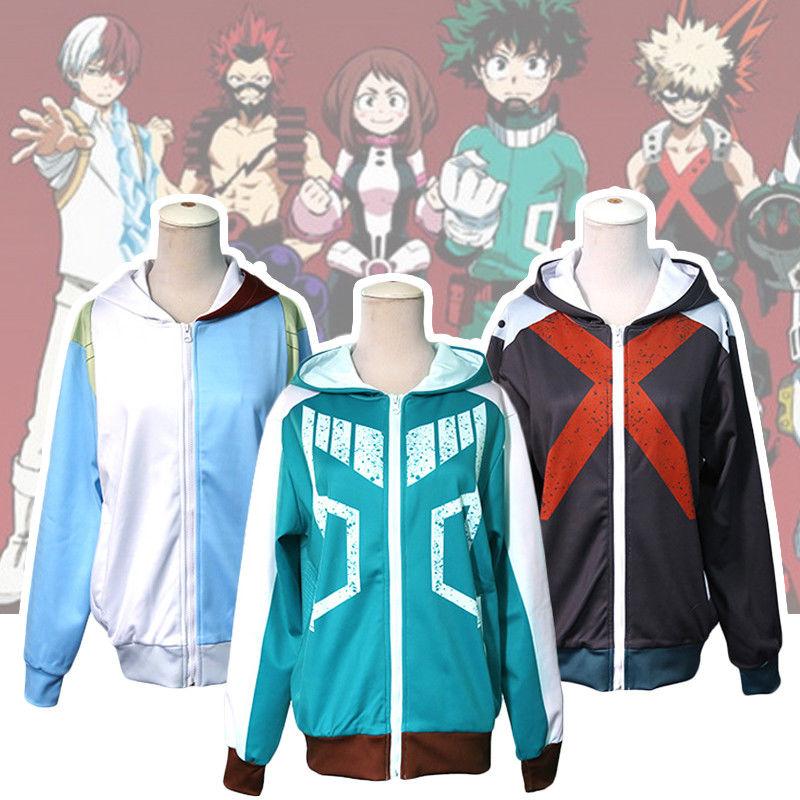 Clothing, Shoes & Accessories My Boku No Hero Academia Cosplay Kohei Horikoshi Hoodie Gym Sweatshirt Coat Top
