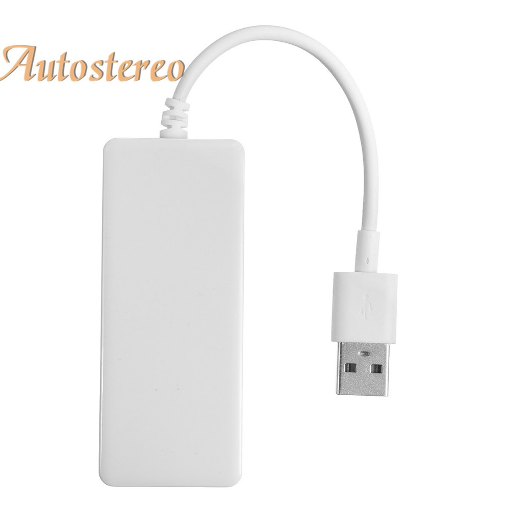 Autostereo USB Smart Link Apple CarPlay Dongle for Android Navigation Player Mini USB Carplay Stick with Android car DVD player(China)
