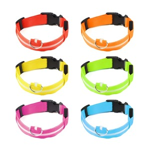 Image 3 - LED Fluorescent Glow light ring for dog Novelty Lighting Collar Anti Lost Pet Night Lamp novedades 2019