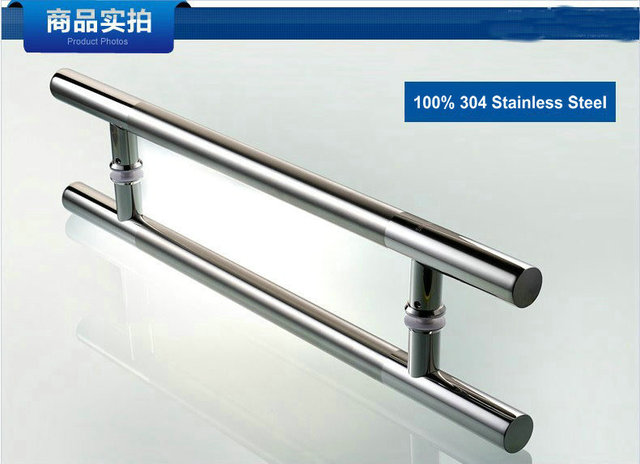 600MM Length (400MM Pitch) Top Class Polishing and Wire Drawing Process 304 Stainless Steel Tubing Pull Door Handle, Door Knob
